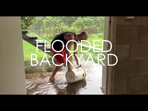Solving A Flooding Problem In My Yard