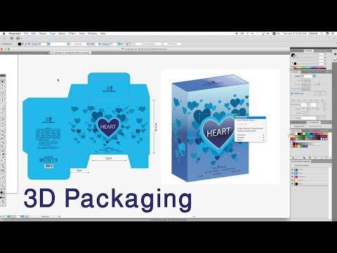 3D Packaging Illustrator - Perfume Box