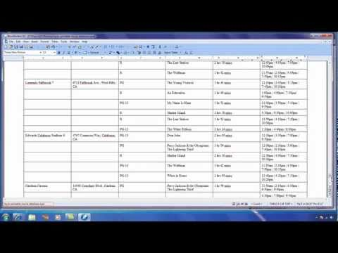 Create documents from data in WordPerfect - Part 2