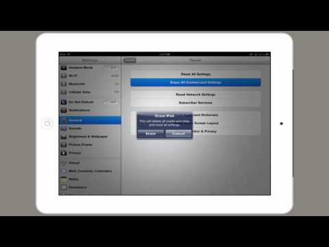 How to Erase All Contacts & Settings for iPad : Tech Yeah!