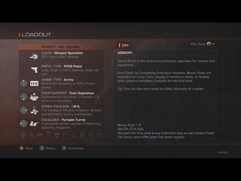 Call of Duty Ghost Extinction Recovery Service l Teeth | Legit Stats | [XBOX]