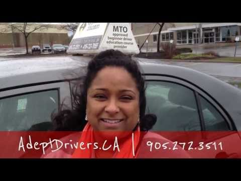 Recommend & Go for Adept Training Mississauga to prepare G Road test