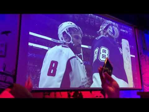 Caps fans celebrate win at Penn Social
