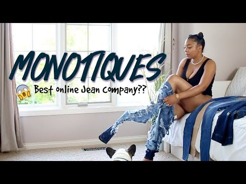 TRY ON Monotiques JEANS WITH ME \\ Try on Haul