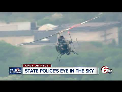 State police now using helicopters to fight crime in Indiana