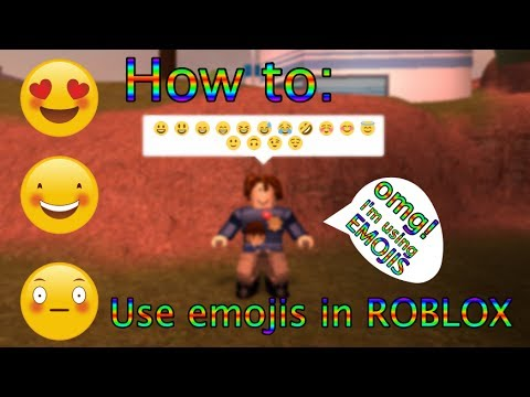 HOW TO USE AN EMOJI ON ROBLOX FOR PC USERS!