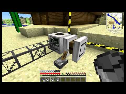 Minecraft Tekkit tutorial - How to build and use quarries