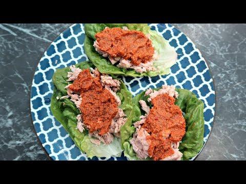 Keto Tuna Salad Wraps