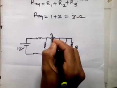how to solution series & parallel combinational resistor circuit bangla 1