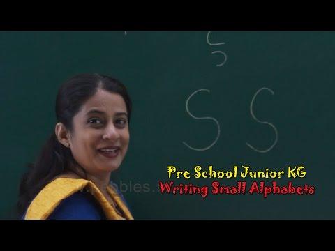 Writing Small Alphabets a to z | Alphabets Train | ABC Song | Pre School Junior