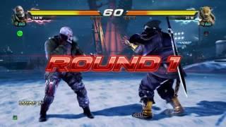 Tekken 7: How to do Kings Rolling Death Cradle easily (Tutorial)