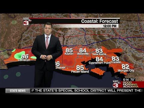 Daniel's Weather Forecast 6/6/18
