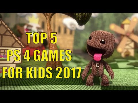 Top 5 Best PS4 games for kids in Christmas 2017 I PS4 Xbox One PC