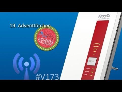 [19. Dezember] #V173 Die WLAN-Reichweite mit dem AVM FRITZ!WLAN Repeater 1750E erweitern