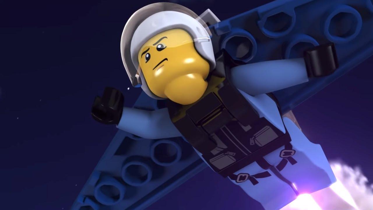 LEGO City Sky Police and Fire Brigade  - FULL MINI MOVIE 2019 - Where Ravens Crow