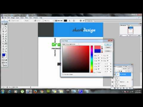How to Design Cover Page in Adobe Photoshop