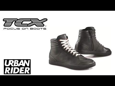 TCX X-GROOVE MOTORCYCLE TRAINERS BOOTS REVIEW by URBAN RIDER
