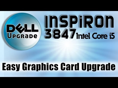 How to upgrade Dell Inspiron 3847 graphics card