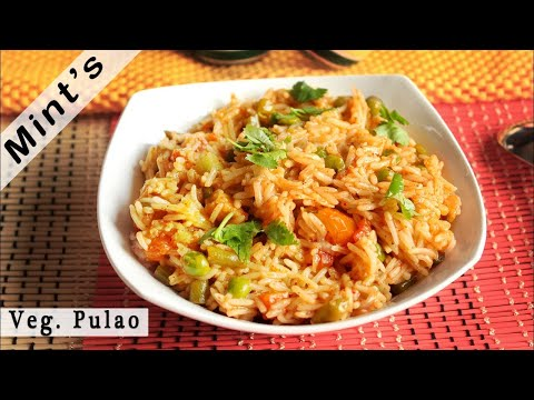 Veg Pulao Recipe in Hindi | Vegetable Pulao in Pressure Cooker | Lunch & Dinner Recipe