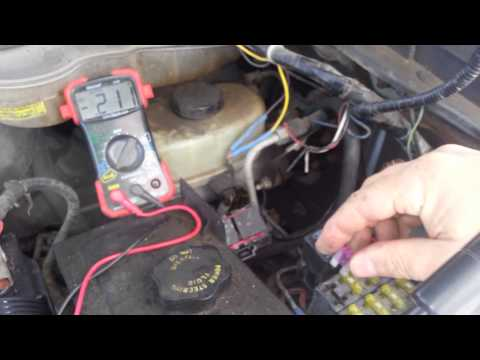 Why batt being drained on 2003 f350 6.0l diesel