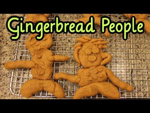 No-Roll Gingerbread People Cookie Recipe (Cookie Week!)