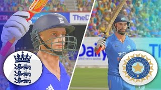 DON BRADMAN CRICKET 17 - ENGLAND TOUR OF INDIA 2017 - 3RD ODI