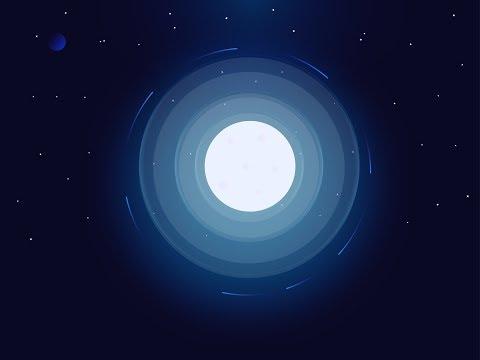 Moon light illustration   Adobe illustrator tutorial