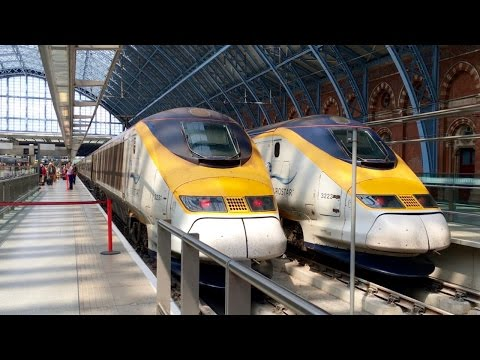 The Eurostar High Speed Train - Standard Premier Class