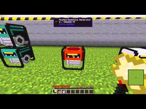 Minecraft Mod Spotlight Extra Utilities Generators 1.6.4. (1.7.10 Version Link Below)