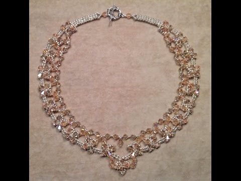 Classic Crystal Necklace Tutorial
