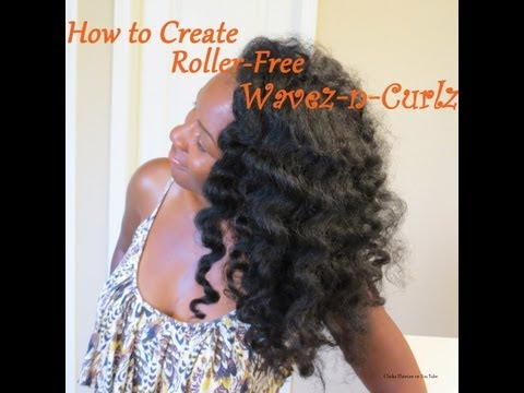 How to Create Roller-free Waves and Curls