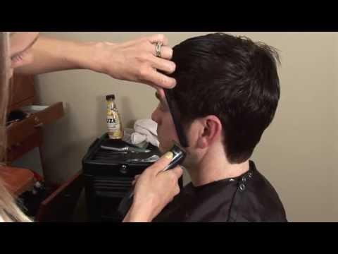 HOW TO CUT Mens Medium / Long Hair with Scissors // Hair Tutorial