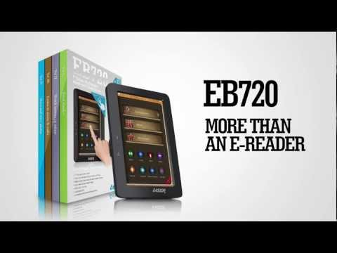 Introducing the Laser eBook eb720