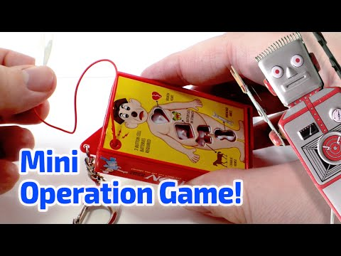 1998 OPERATION GAME Working Miniature by Basic Fun