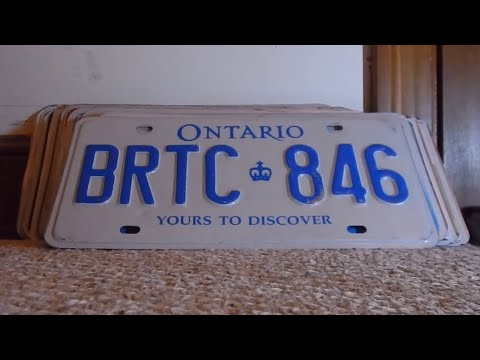 The License Plates Collection 8