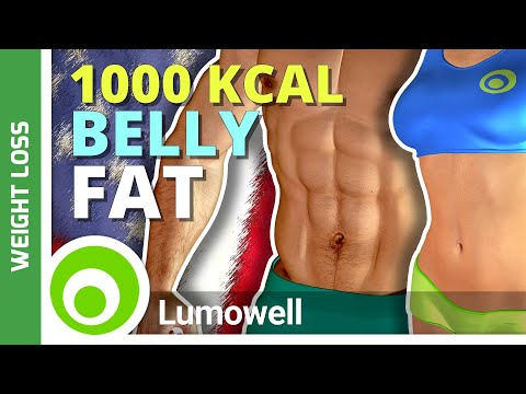 1000 Calorie Belly Fat Workout