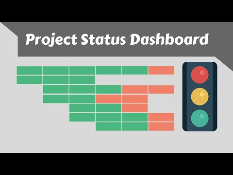 Build Excel Project Status Dashboard - Issue Tracker