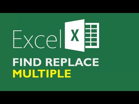 Find and Replace Multiple Values in Excel - ALL AT ONCE!