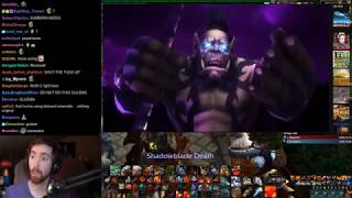 Asmongold Reacts to The Black Temple Remastered (World of Warcraft Cinematic) by IKedit
