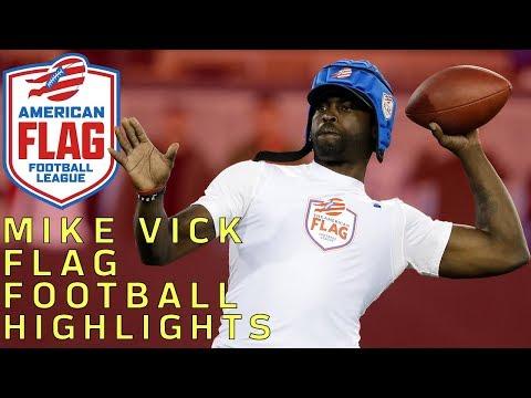 Michael Vick Flag Football Highlights | NFL