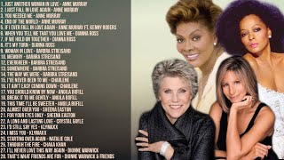 The Best of Anne Murray, Barbra Streisand, Diana Ross, Dionne Warwick & More   Non-Stop Playlist