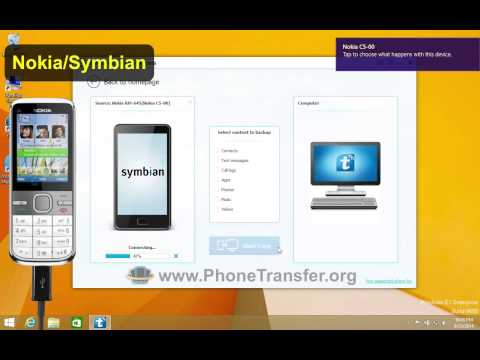 [Nokia Phone Data Backup]: How to Backup Nokia(Symbian) Phone to Computer in 1-Click