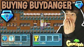 BUYING ''BUYDANGER'' FOR 220 DIAMOND LOCKS [OMG!!] | Growtopia