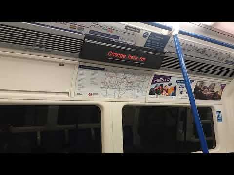 Northern Line night tube announcement at Euston