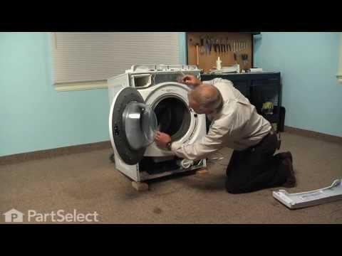 Washing Machine Repair - Replacing the Door Bellow (Whirlpool Part # W10111435)