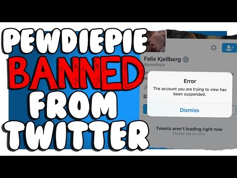 PEWDIEPIE GOT SUSPENDED FROM TWITTER!? (WHY THIS HAPPENED)