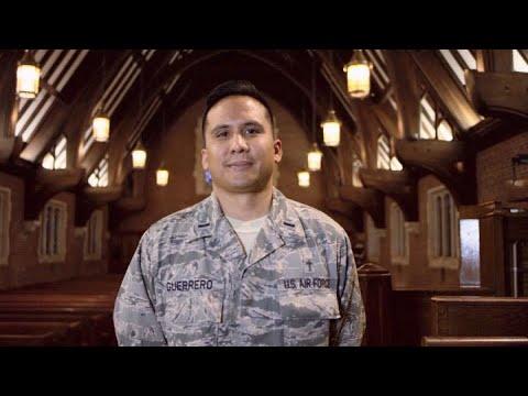 U.S. AirForce: Lt Genesis Guerrero, Chaplain