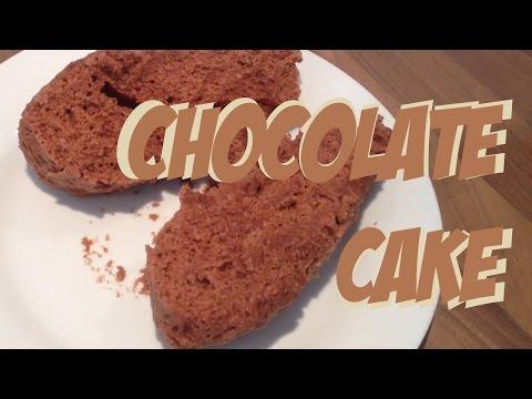 Chocolate cake in microwave #fastmicrowave