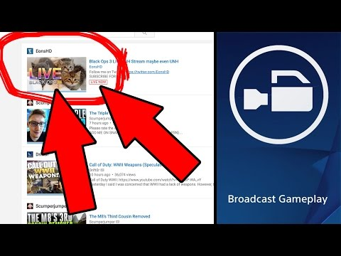 How to Put a Custom Thumbnail on a PS4 Broadcast Live Stream – Tutorial [Working 2018]