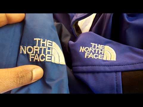 Original vs. Fake North Face Jacket in EU